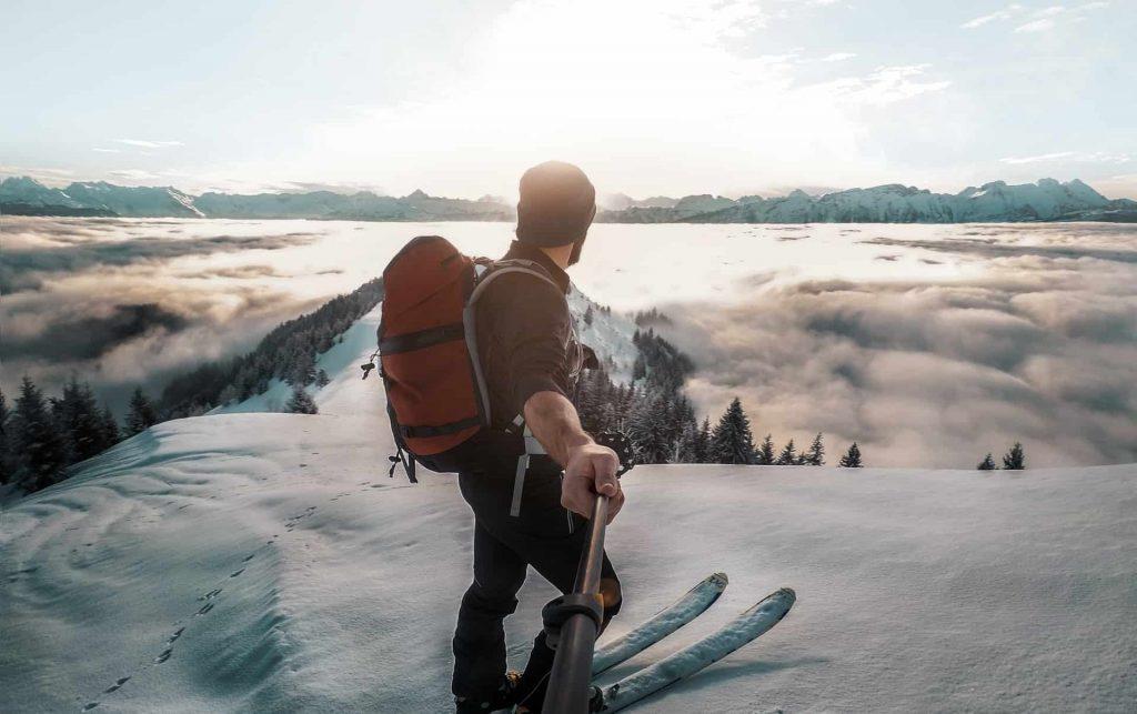 Skiing Backpack