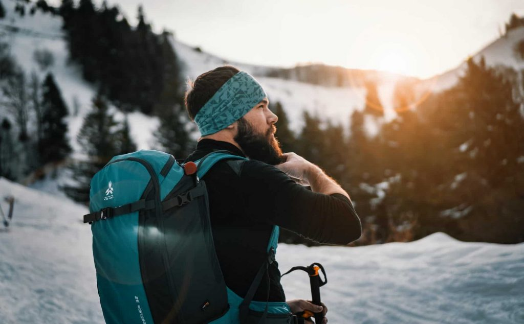 what to put in ski backpack