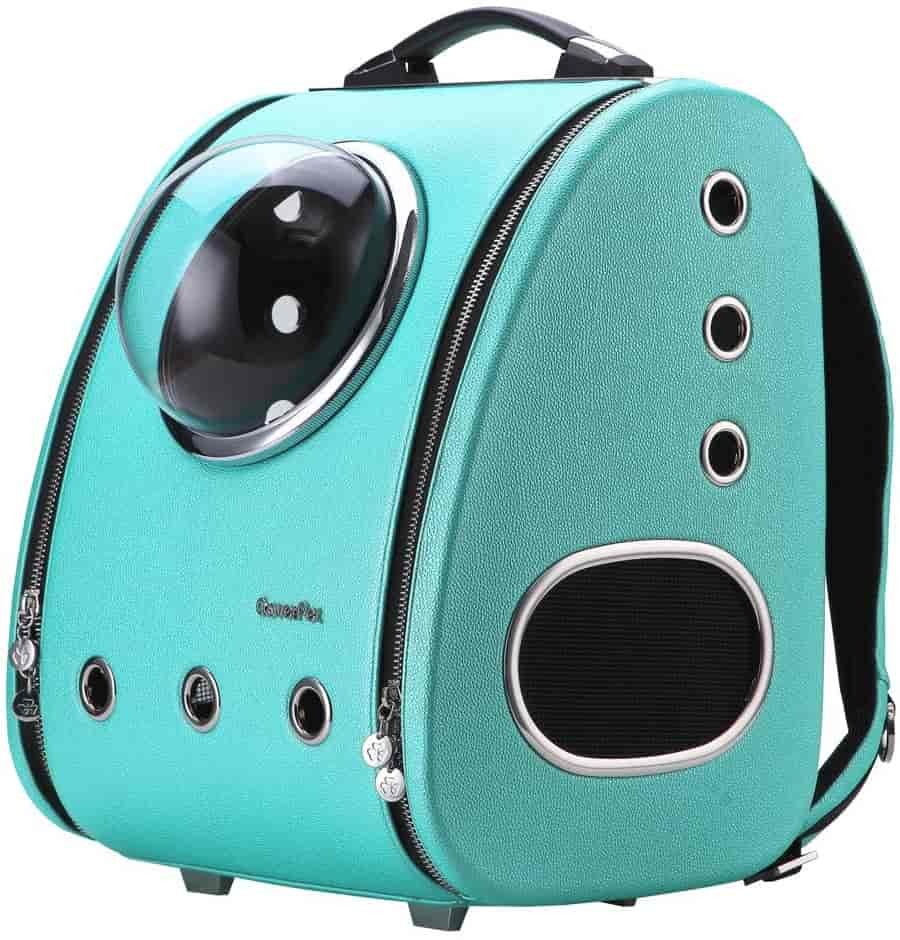 CloverPet Luxury Bubble Pet Carrier Travel Backpack for Cats