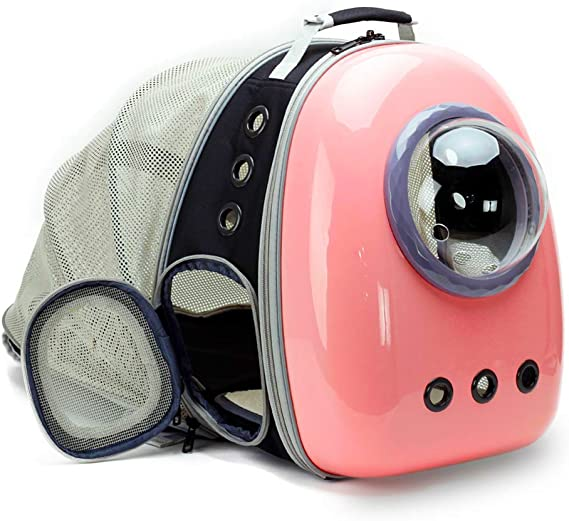 Expandable Space Capsule Cat Carrier Backpack
