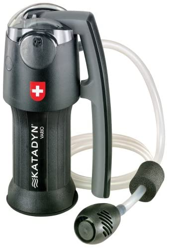 Personal Water Filter for Hiking, Camping