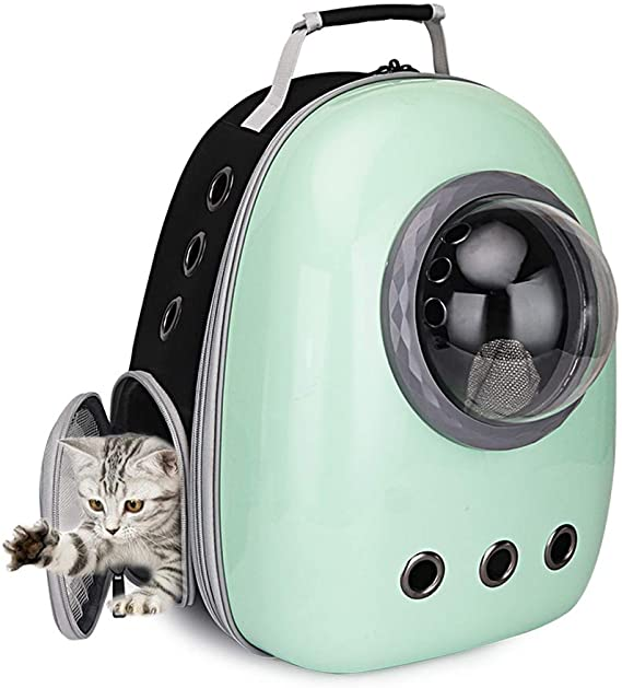 Portable Cat Bubble Backpack